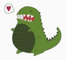 Kalosaur <3 - Sticker by Thomas Wells