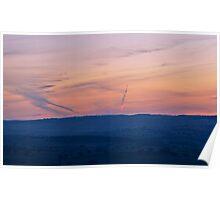 Sunset Spectacular, Mt Panorama Poster