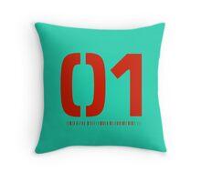 Miku 01 Throw Pillow