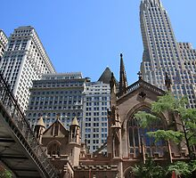 trinity church new york by gruntpig