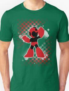 Super Smash Bros. Red Mega Man Silhouette Unisex T-Shirt