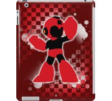 Super Smash Bros. Red Mega Man Silhouette iPad Case/Skin