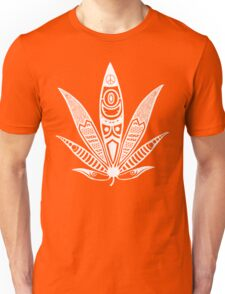 white psychedelic ganja  Unisex T-Shirt