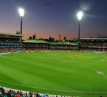 Sydney Cricket Ground - Sunset by Jack McClane