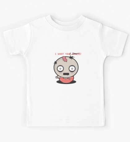 I WANT YOUR BRAINS! Kids Tee