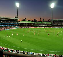 Sydney Cricket Ground - Sunset by Jack McClane