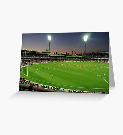 Sydney Cricket Ground - Sunset Greeting Card