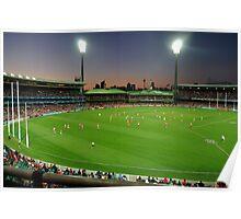 Sydney Cricket Ground - Sunset Poster
