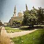 Jumeirah Mosque by Chris Cardwell