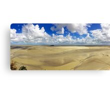 Panorama from Mont St Michel Canvas Print