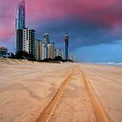Tracks - Surfers Paradise by Hans Kawitzki