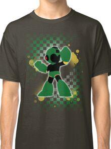 Super Smash Bros. Green Mega Man Silhouette Classic T-Shirt