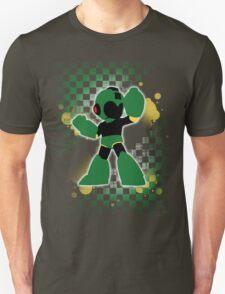Super Smash Bros. Green Mega Man Silhouette T-Shirt