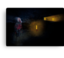 The Creeper Canvas Print