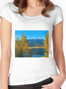 Begbie  Revelstoke BC Women's Fitted Scoop T-Shirt