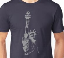 Statue of Liberty with ABC mask Unisex T-Shirt