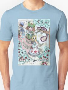 Alice & The Pig Baby Unisex T-Shirt