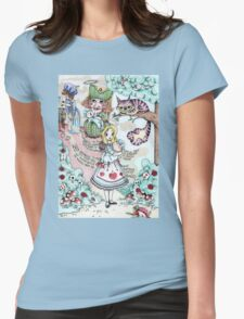 Alice & The Pig Baby Womens Fitted T-Shirt