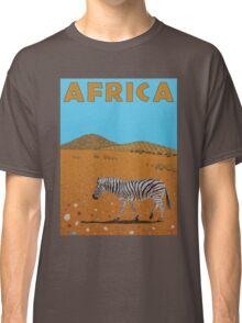 Landscape with Zebra Classic T-Shirt