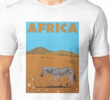 Landscape with Zebra Unisex T-Shirt