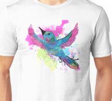 Watercolour Bird Unisex T-Shirt