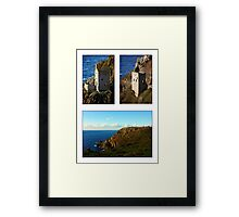 An Evening At Botallack Crowns Framed Print