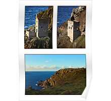 An Evening At Botallack Crowns Poster