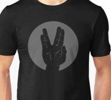 Spock Vulcan Greeting Circle Unisex T-Shirt