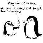 Bad Penguins by DoodleDesigns