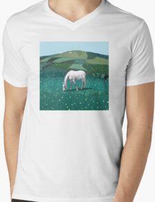 The White Horse of Alfriston Mens V-Neck T-Shirt