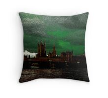 (Water)Colours of London Throw Pillow
