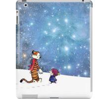Calvin and Hobbes WInter iPad Case/Skin