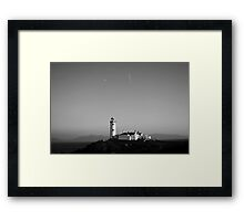 Fanad Head Lighthouse - Donegal, Ireland Framed Print