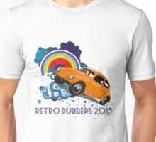 Retro Dubbers Rainbow Bug Unisex T-Shirt