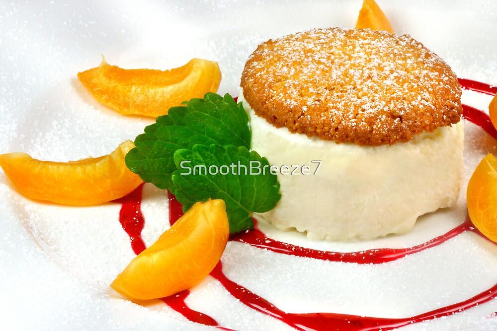 Honey Semifreddo With Almond Biscotti by SmoothBreeze7