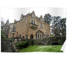 Montsalvat Great Hall view from below Poster