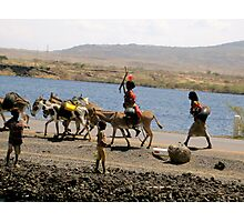 On the Road to Harar, Ethiopia Photographic Print
