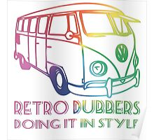 Doing it in style - Retro Dubbers Poster