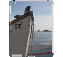 An Island A Lighthouse And A Boat iPad Case/Skin