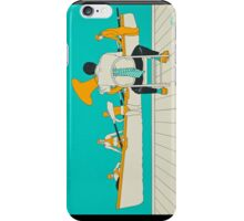 On The Beach - Yellow Shoes, acrylic painting iPhone Case/Skin