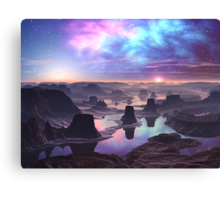 Planet Glorious Canvas Print