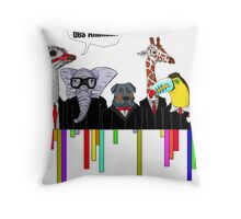 You are animals Throw Pillow