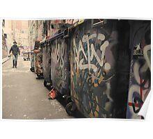 Urban Grunge - Melbourne Poster