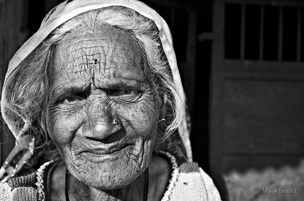 Old Lady by Mark Smart