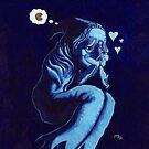 Bashful Blue by Lloyd Harvey