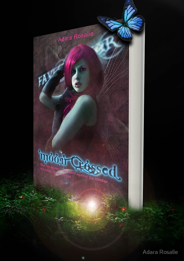 Moon Crossed Book Cover Design by Adara Rosalie