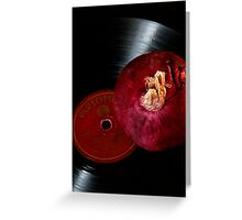 You spin me right round baby.. Greeting Card