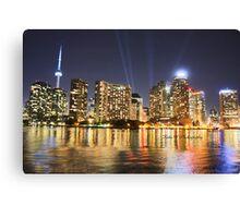 Toronto from Lake Ontario Canvas Print