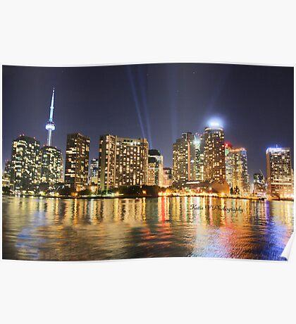 Toronto from Lake Ontario Poster
