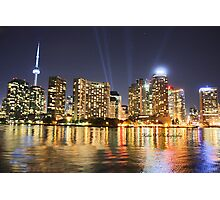 Toronto from Lake Ontario Photographic Print